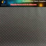 Varie la taille de l'impression par points, impression de coeur, tissu ordinaire d'impression de taffetas de polyester