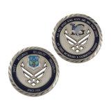 Sfida militare del blu marino del carrello della serratura della moneta del ferro della moneta premio personale di disegno del vecchio