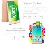 Z5 Leagoo original Lte Z5 Téléphone Mobile Android 1 Go de RAM 8 Go de mémoire ROM Core5.0 Quad pouces Dual Sim de téléphone cellulaire Appareil photo 5.0MP FM Smart Phone Silver