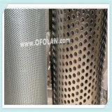 Fornitore perforato del pannello reticolare del metallo della maglia di titanio