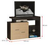 يعيش غرفة أثاث لازم خشبيّة خزانة تلفزيون حامل قفص ([هإكس-در009])