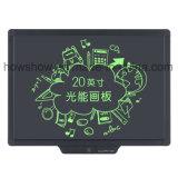 Howshow Digital tablette d'écriture de l'affichage à cristaux liquides E de 20 pouces pour le contact