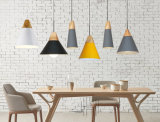 Travando decorativo moderno pingente em metal leve sombra Restaurante Iluminação Pendente