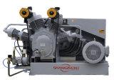 compresor de aire de alta presión del pistón del compresor de aire de 2.0nm3/Min 4.0MPa 40bar/compresor de aire sin aceite