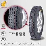 Neumático del triciclo