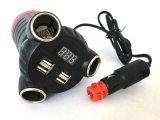 Hidden GSM GPS tracker Adaptateur Multi-Car Voltagecheck Affichage LED de batterie de voiture