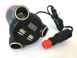 GPS caché GSM Tracker Multi-Car Adapter Batterie de voiture Voltagecheck LED Display