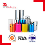 bottiglie cromate plastica grigia dell'HDPE 390ml per il supplemento dietetico