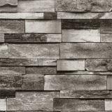 가정 내부를 위한 자연적인 물자 3D 벽돌 대나무 벽지