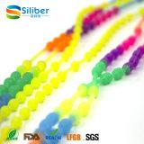 Pretty Cross Pendant Multi-Color Silicone Necklace