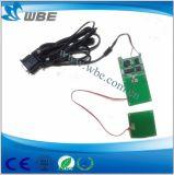 Interface RS232 do módulo de leitor de cartão RFID de 13,56 MHz