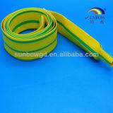 Manicotti gialli/verdi dell'indicatore di Indentify del cavo e della fune dello Shrink di calore