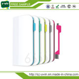 Portable Power Bank External 6000mAh Chargeur de batterie USB portable