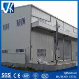 Edifício pré-fabricado do armazém da construção de aço clara