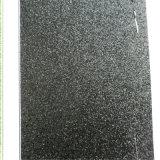 Couro sintético do plutônio do Glitter popular para as sapatas Hw-378
