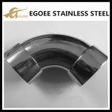 Ss/coude main courante en acier inoxydable pour une balustrade