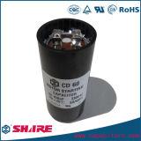 CD60 алюминиевые конденсаторы старта мотора электролитического конденсатора 220VAC