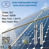 насос нержавеющей стали погружающийся 400W 3in солнечный для полива