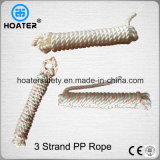 Hot Selling 6-18mm Polypropylene 3 Strand Twisted Danline PP Rope