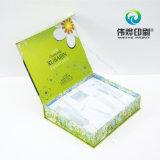 Moda elegante caja de papel, impresión Offset, Hot Stamping