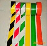 Doppeltes Farbe Belüftung-Vorsicht-Band mit starkem Kleber für Fußboden-WARNING (76mm*20m/30m)