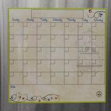 Стикер календара магнита холодильника доски для сообщений магнита холодильника декоративный