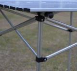 Pliage, aluminium, pêche, table de camping