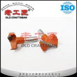 Houtbewerking van het Carbide van de Norm van ISO de Grootte Gecementeerde