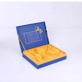 Heiße stempelnde Silk Zwischenlage-fördernde kundenspezifische Geschenk-Kästen