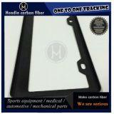 Frame Wear-Resistant Polished da matrícula da fibra do carbono