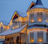 Luz impermeável ao ar livre do sincelo do diodo emissor de luz do Xmas do Natal para a decoração Home