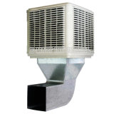 Gewächshaus-Vorhang-abkühlende Auflage-industrielle verwendete an der Wand befestigte abkühlende Auflage-Wasser-Luft-Kühlvorrichtung