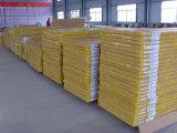 Porte en bois dénommée de PVC de forces de défense principale d'intérieur en verre (porte en bois de PVC)