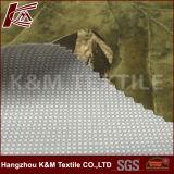 100 % polyester interlock double jersey 50d avec une bonne couleur de qualité en tissu imprimé du film de PU