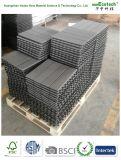 30*30cm WPC Decking-Holz und zusammengesetzte im Freiengarten-Plastikfliesen