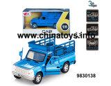 Il nuovo metallo caldo di 1:32 del giocattolo di vendita tir indietroare l'automobile con musica ed indicatori luminosi (9830138)