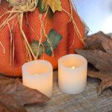 La vela de la vela de la luz del té de la boca de las ondas para el cumpleaños y la decoración