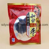Empaquetage en plastique personnalisé par taille de fruits secs sains de casse-croûte avec le zip-lock