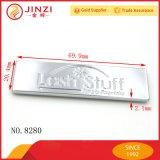 Bolsas de garantia de qualidade de metal fina placa de logotipo de hardware por grosso