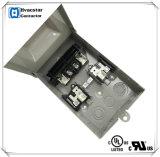 Pds-60A fundiu o condicionador de ar da caixa da disconexão do interruptor da disconexão de 60A 120V/240V