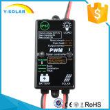 IP67防水の小型5A-12V太陽エネルギーのコントローラ