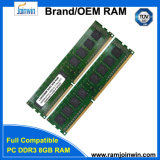 Оригинал Ett откалывает Unbuffered RAM DDR3 1600 MHz 8GB