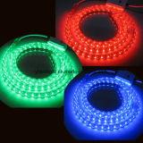 5050 Color alterando as tiras de LED 60LEDs/M listados ETL