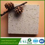 Lastra beige della pietra del quarzo per il controsoffitto con i prezzi di fabbrica