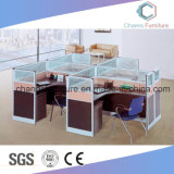 Mobilier de bureau moderne utile Table Workstation