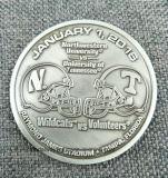 Le zinc fait sur commande l'usine de pièce de monnaie en métal de souvenir de moulage mécanique sous pression