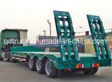 2/3/4 di rimorchio basso del camion della base degli assi 40t-100t