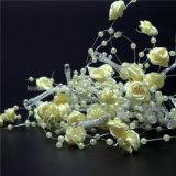Battery Operated White Rose fée Lumière cordes avec Micro Perle pour Bed Décoration de chambre