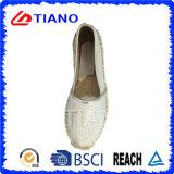 ダイヤモンド(TN36720)が付いている方法平らで、歩きやすいEspadrillesの女性の靴