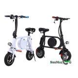 Color blanco de la fuente de la fábrica bici de la rueda E de 10 pulgadas